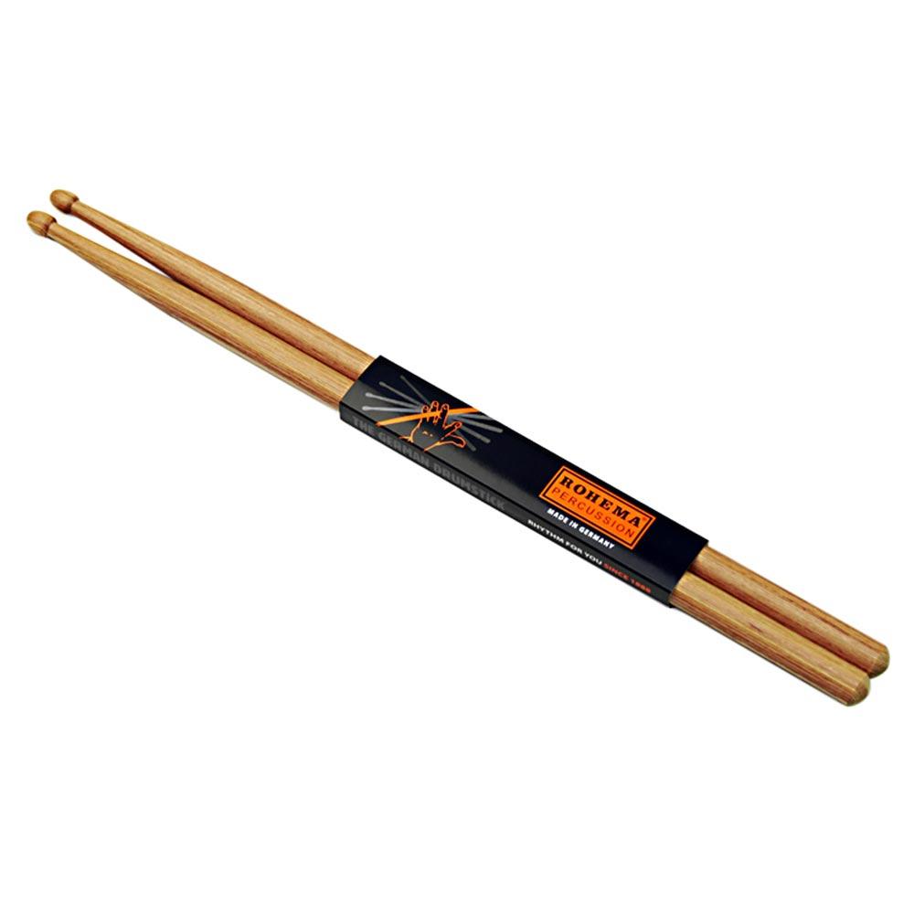 ROHEMA 61325/3 7A-H Hornwood シリーズ ドラムスティック×5セット