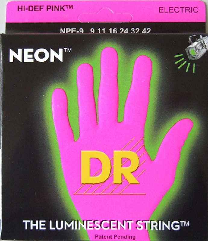 DR NEON PINK DR-NPE9 Lite エレキギター弦×12セット