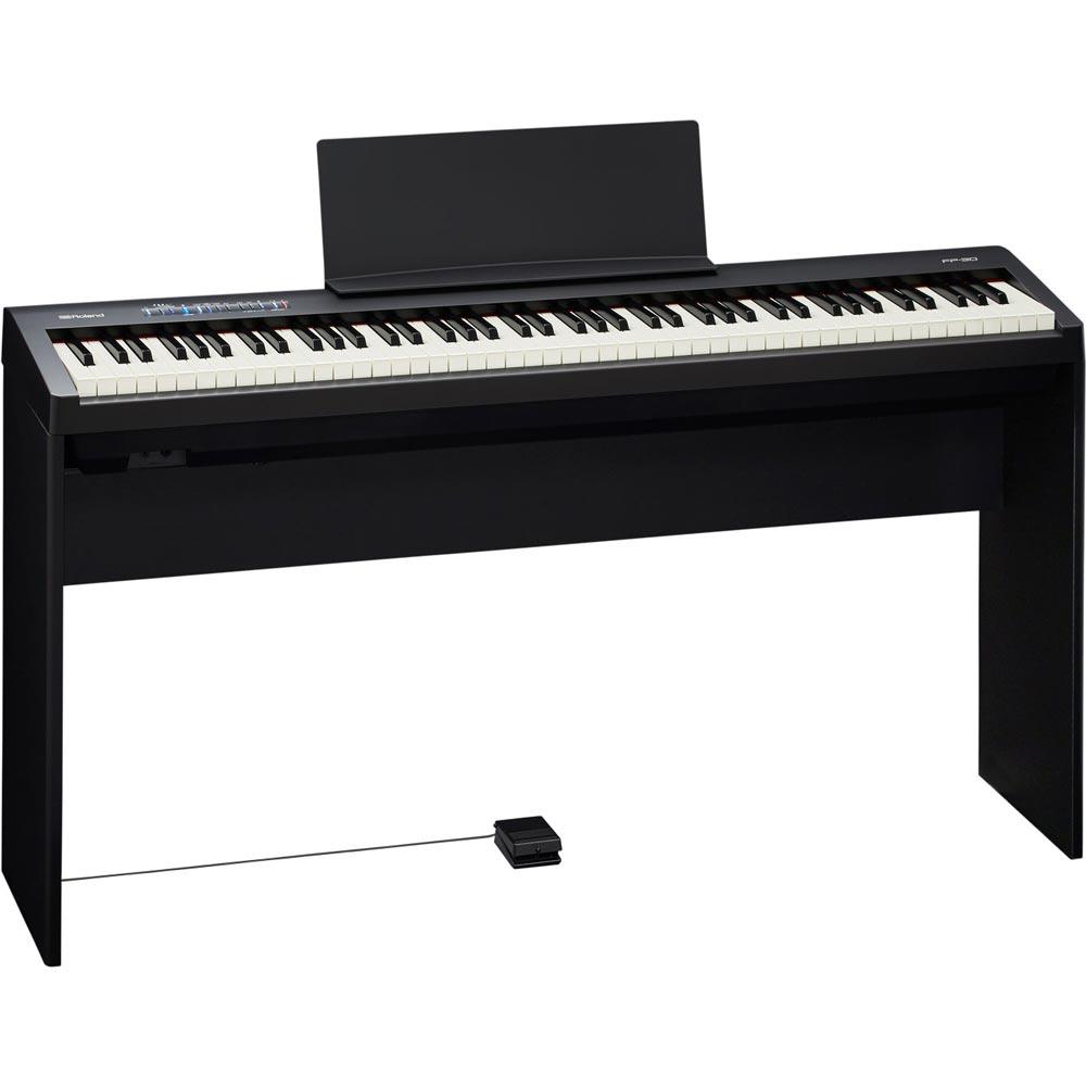 ROLAND FP-30 BK 電子ピアノ 純正スタンドセット