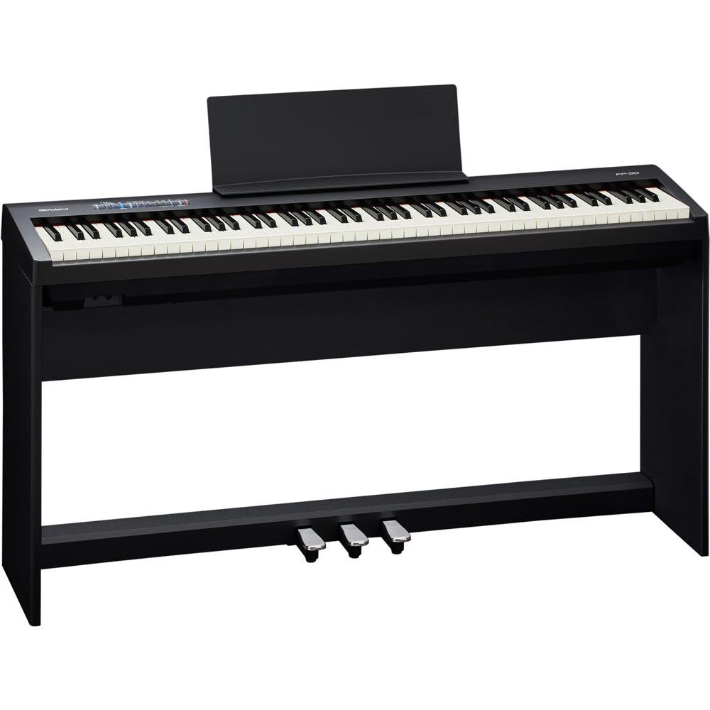 ROLAND FP-30 BK 電子ピアノ 純正スタンド ペダルユニットセット