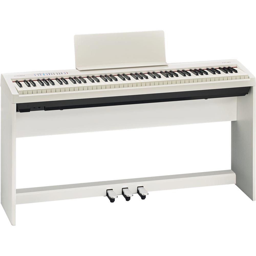 ROLAND FP-30 WH 電子ピアノ 純正スタンド ペダルユニットセット