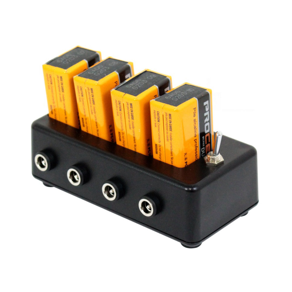 Stoner's FX BATTERY PARK バッテリーパーク パワーサプライ Procell PRO-9V 9V電池 4本 セット