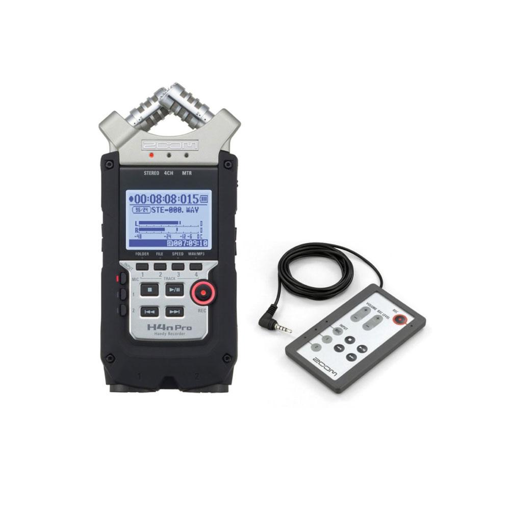 ZOOM H4n Pro ハンディーレコーダー RC4 専用リモートコントローラー付きセット