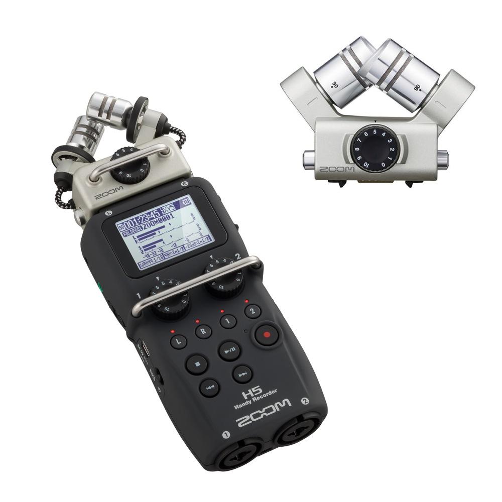 ZOOM H5 ハンディーレコーダー XYH-6 H5専用マイク付きセット
