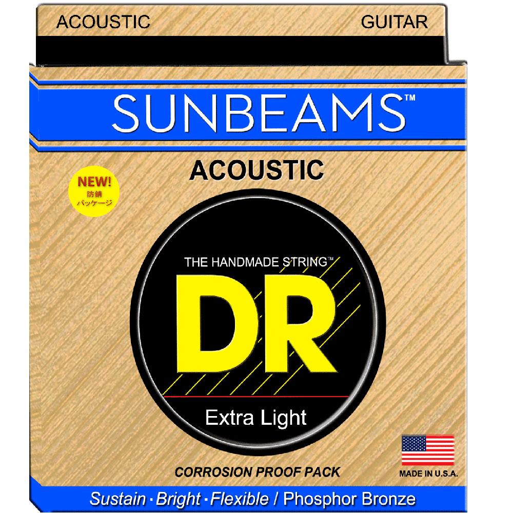 DR SUNBEAM RCA-10 LITE アコースティックギター弦×12セット