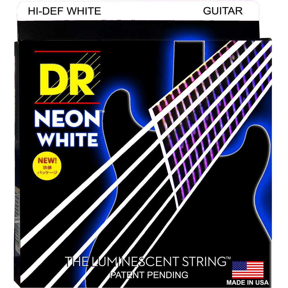 DR NEON HI DEF/E WHITE LITE NWE-9 エレキギター弦×12セット