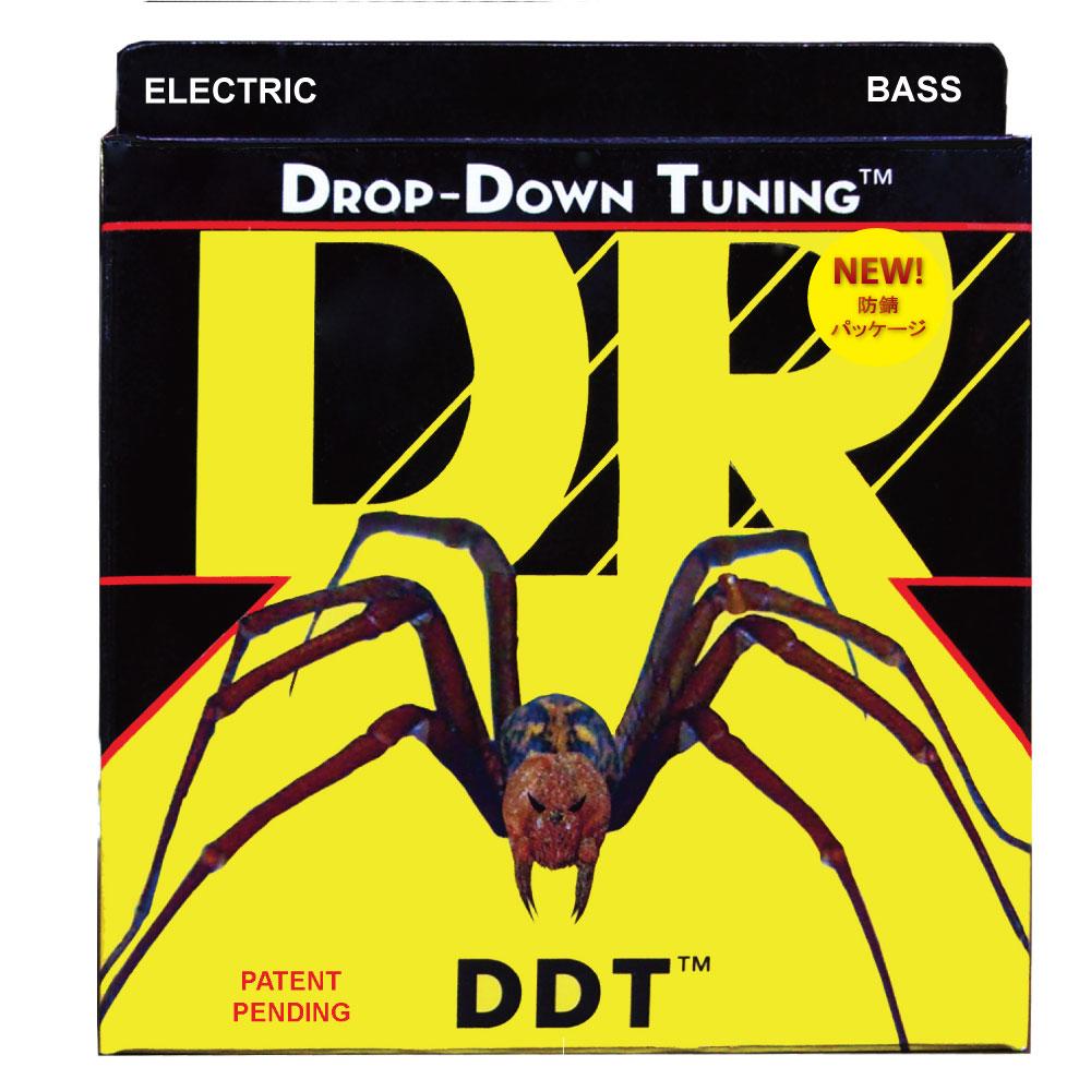 DR DDT/BASS MEDIUM DDT-45 エレキベース弦×2セット