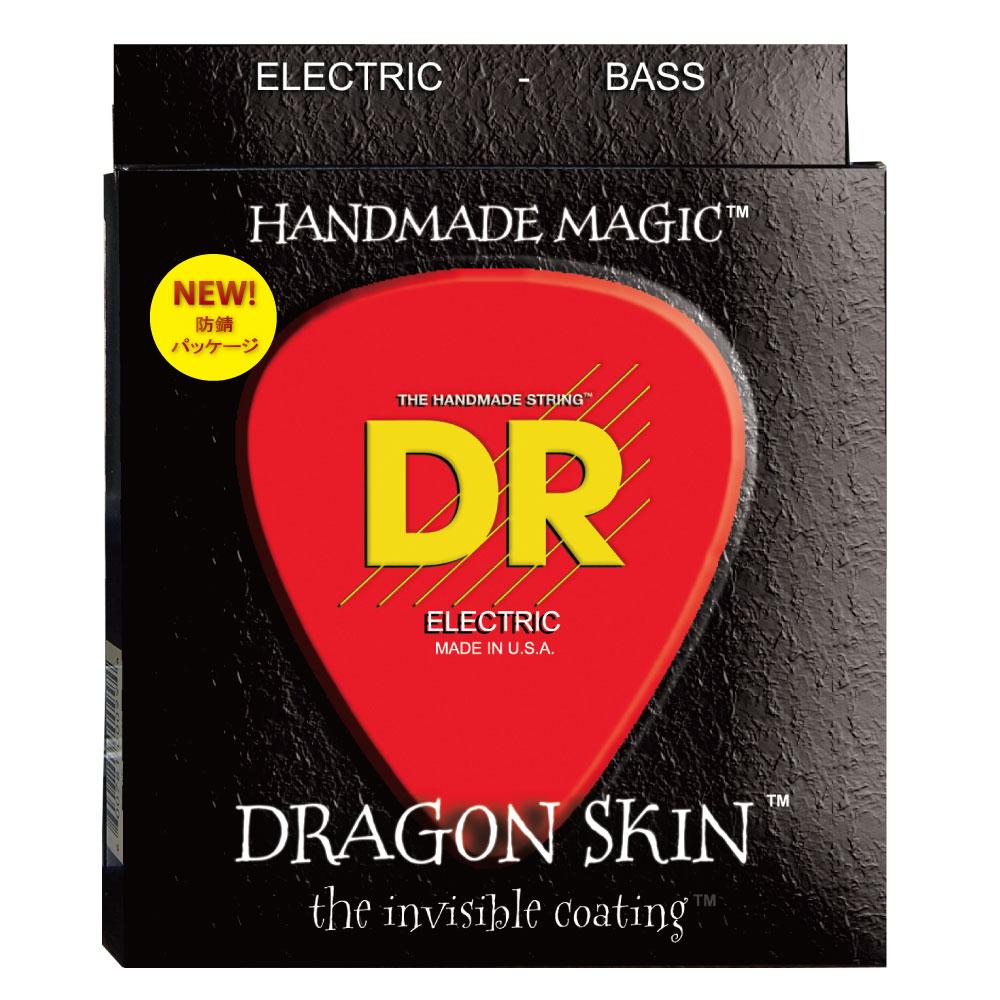 DR DRAGON SKIN/B MEDIUM DSB-45 エレキベース弦×2セット