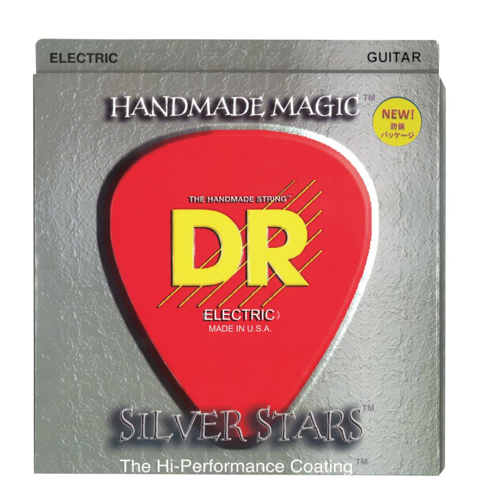 DR SILVERSTARS SIE-9/46 LITE&HEAVY エレキギター弦×12セット