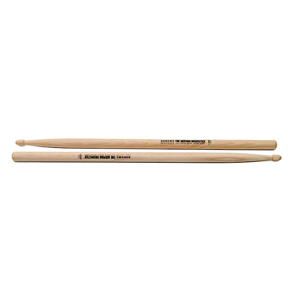 ROHEMA 61321/2U Light Rock 5A Natural シリーズ ドラムスティック×5セット