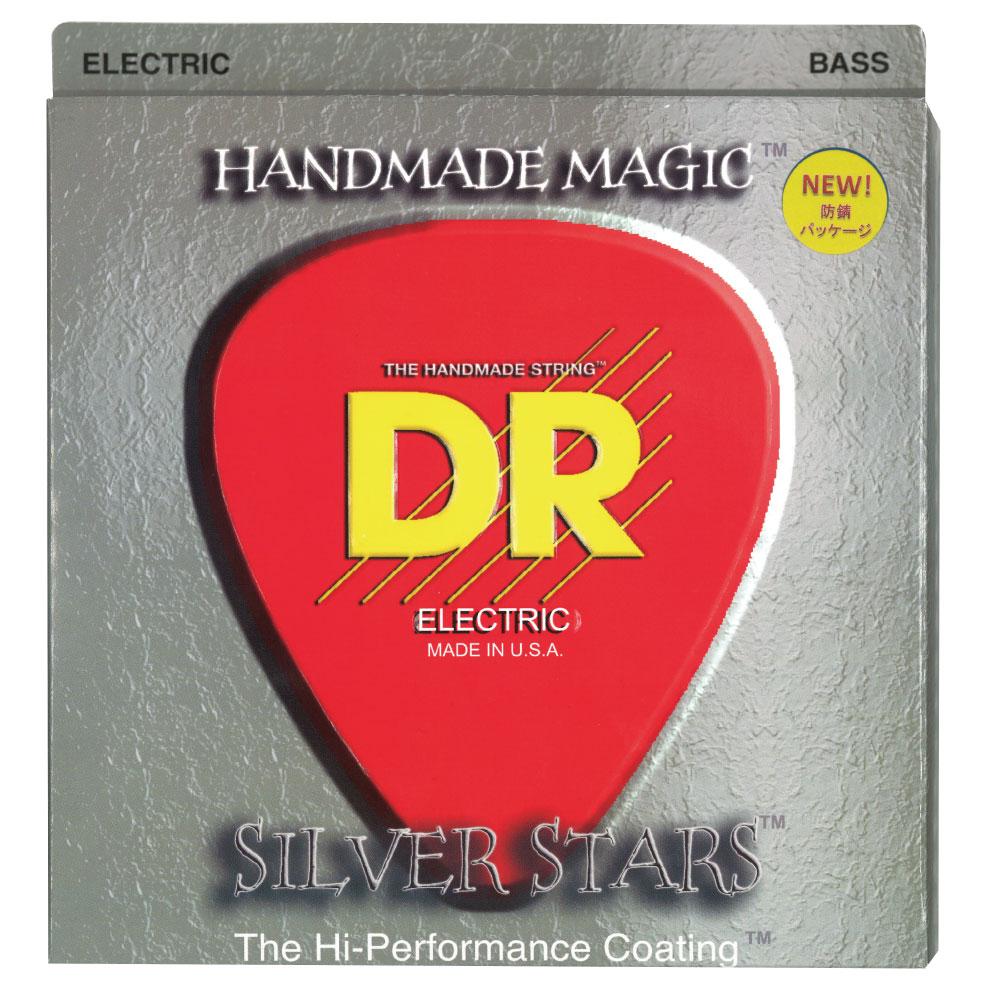 DR EXTRA-Life SILVER STARS DR-SIB45 Medium エレキベース弦×2セット