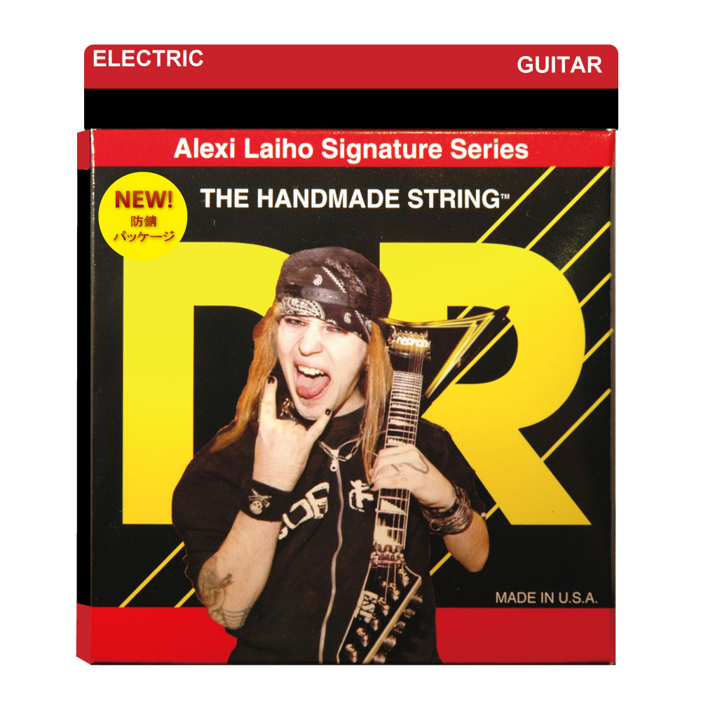 DR AL-9 LITE ALEXI LAIHO SIGNATURE STRINGS エレキギター弦×12セット