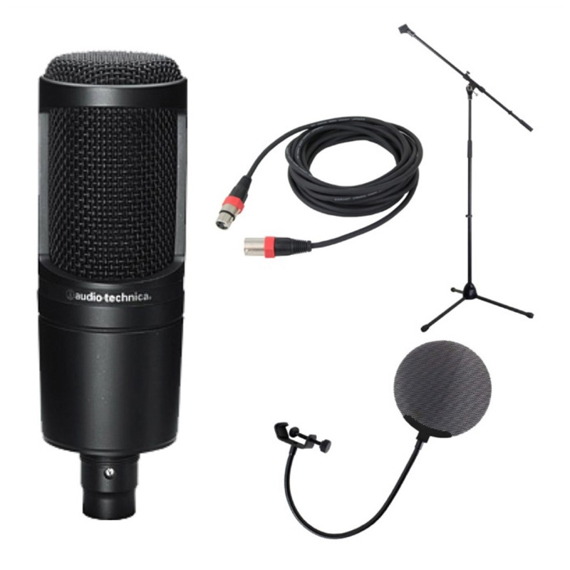 chuya online audio technica at2020 condenser microphone microphone stands silk road lm203 3m. Black Bedroom Furniture Sets. Home Design Ideas