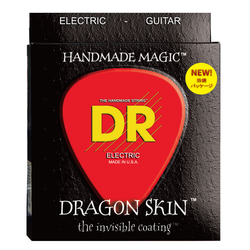 DR DRAGON SKIN DSE-9 LITE エレキギター弦×6セット
