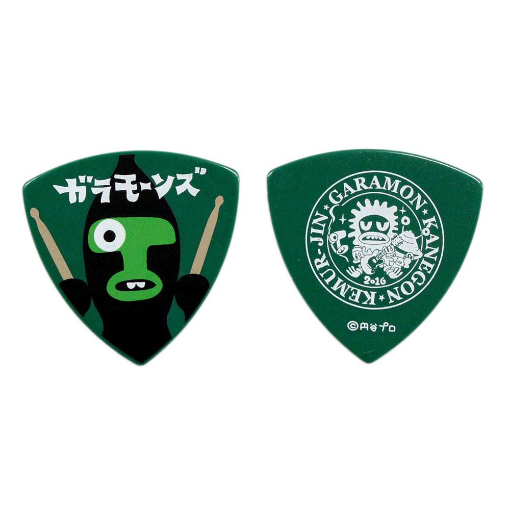 ガラモーンズ ケムール GRE 1.0mm PVC ギターピック×50枚