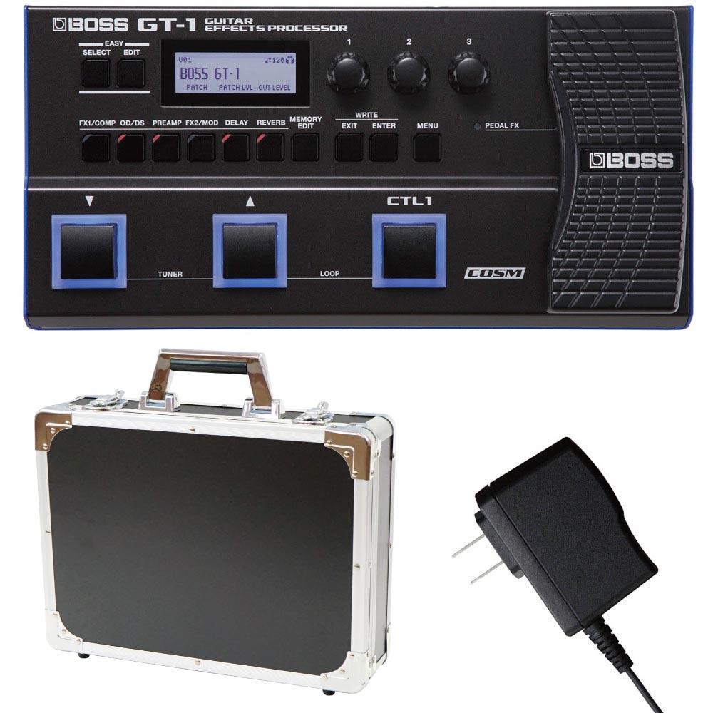 BOSS GT-1 マルチエフェクター Dicon Audio エフェクターケース 純正アダプター 3点セット