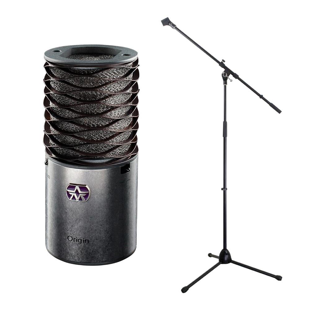 Aston Microphones AST-ORIGIN Aston Origin コンデンサーマイク Dicon Audio MS-003 マイクスタンド 2点セット