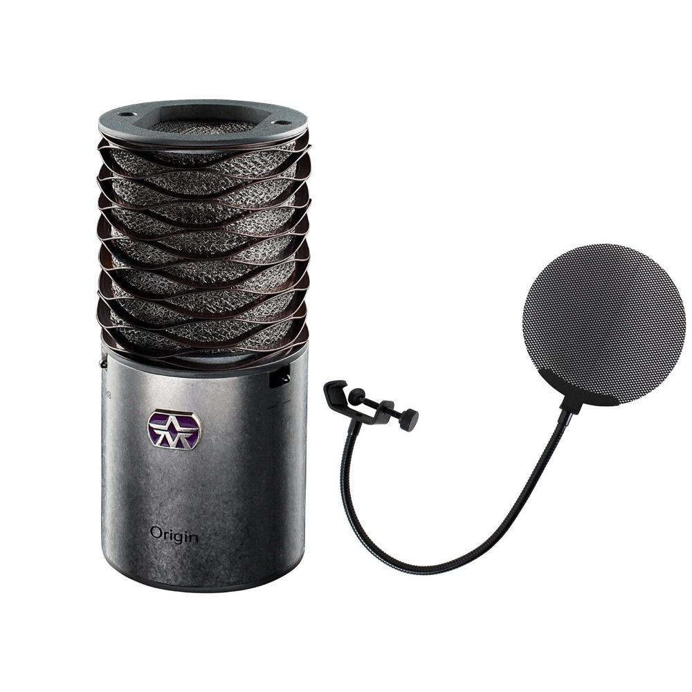 Aston Microphones AST-ORIGIN Aston Origin コンデンサーマイク Dicon Audio DCP-2 メタルポップフィルター 2点セット
