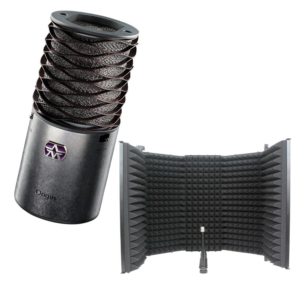 Aston Microphones AST-ORIGIN Aston Origin コンデンサーマイク iSK RF-1 リフレクションフィルター 2点セット
