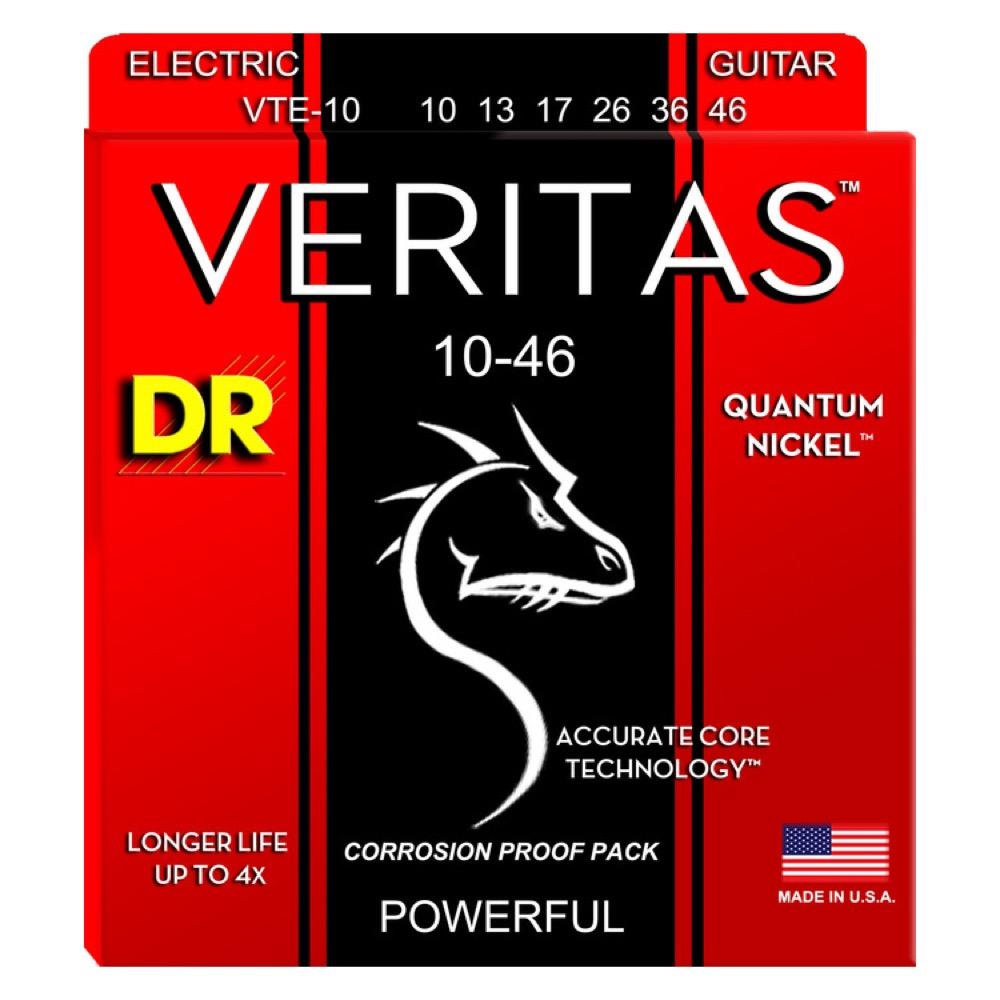 DR VTE-10 VERITAS エレキギター弦×12セット