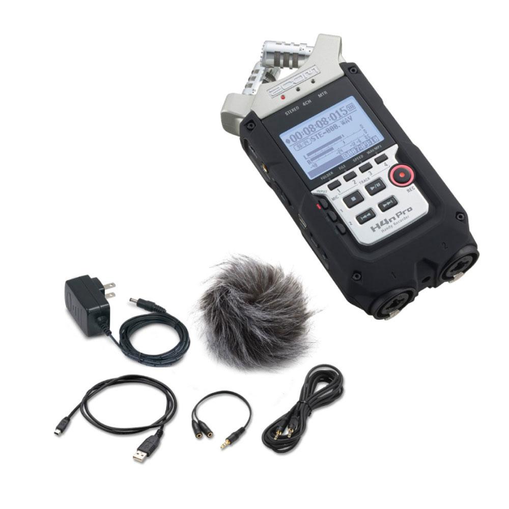 ZOOM H4n Pro ハンディーレコーダー APH-4n 専用アクセサリーパック 2点セット