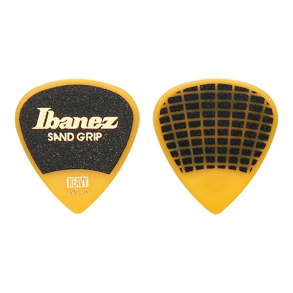アイバニーズ グリップウィザードシリーズ サンドグリップ IBANEZ HEAVY 1.0mm 安心の定価販売 ギターピック×10枚 爆買いセール PA16HSG-YE