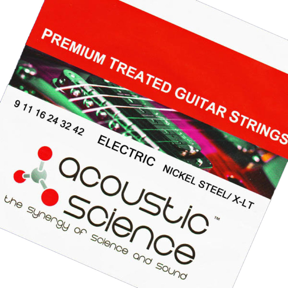 Acoustic Science LACSEG0942 Nickel Extra Light エレキギター弦×10セット