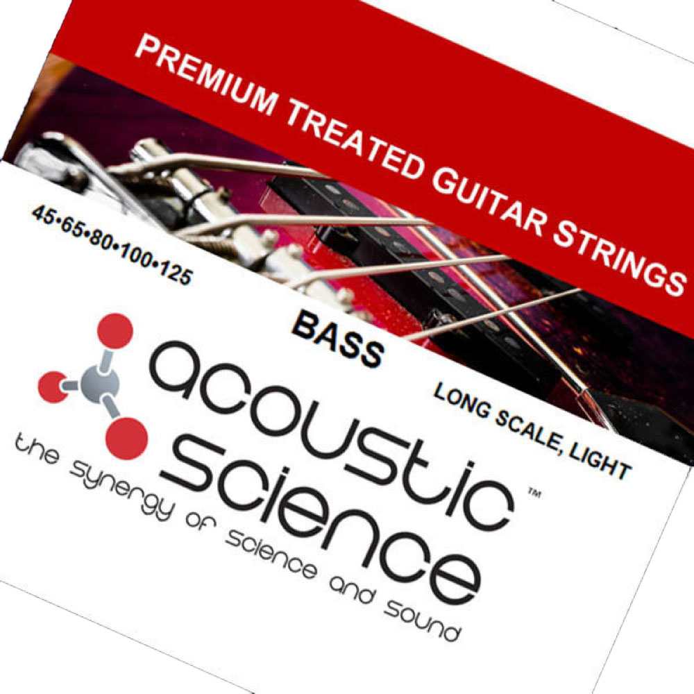 Acoustic Science LACSEB5L45125 Nickel Light Long scale 5弦エレキベース弦×3セット