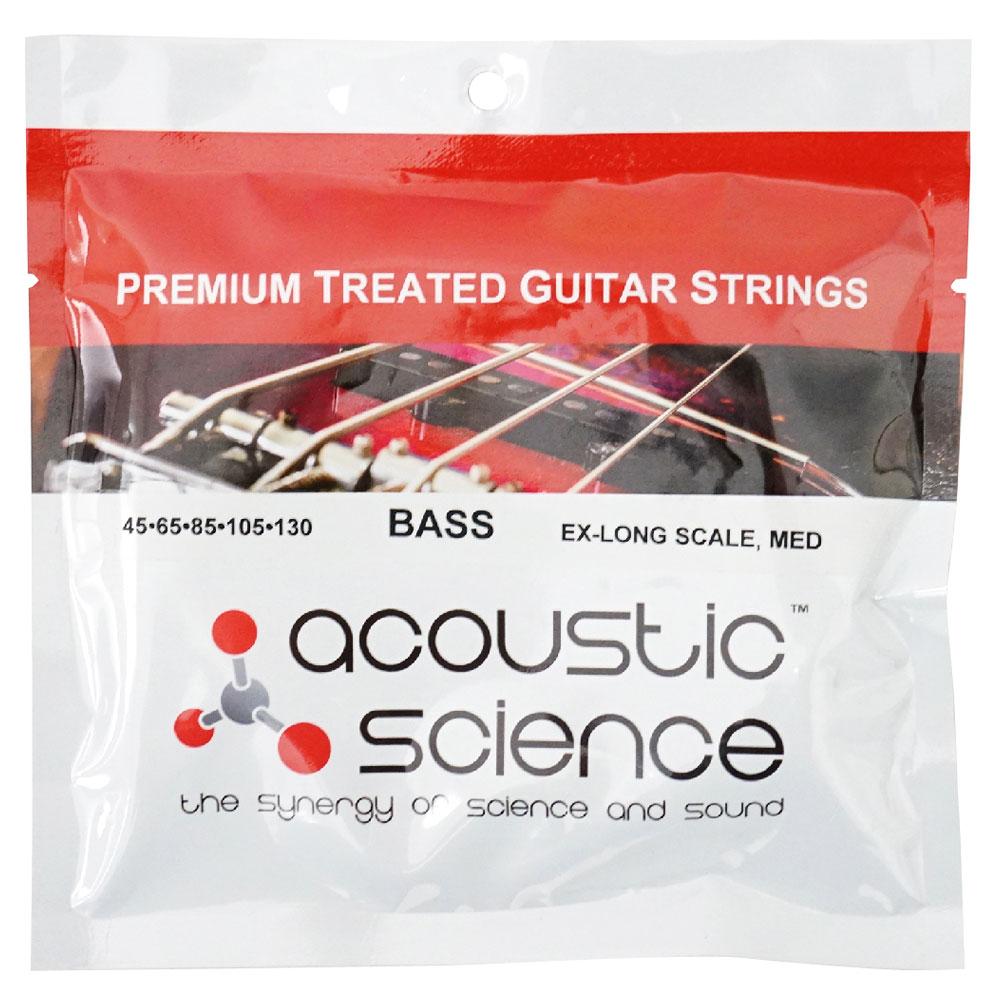 Acoustic Science LACSEB5M45130XL Nickel Medium Extra Long scale 5弦エレキベース弦×3セット