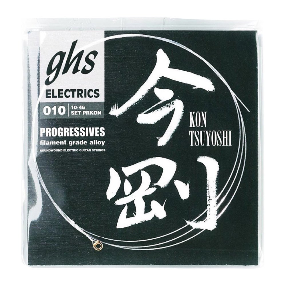 GHS PRKON 010-046 Progressives Tsuyoshi Kon Signature Strings 今剛シグネイチャー エレキギター弦×12セット