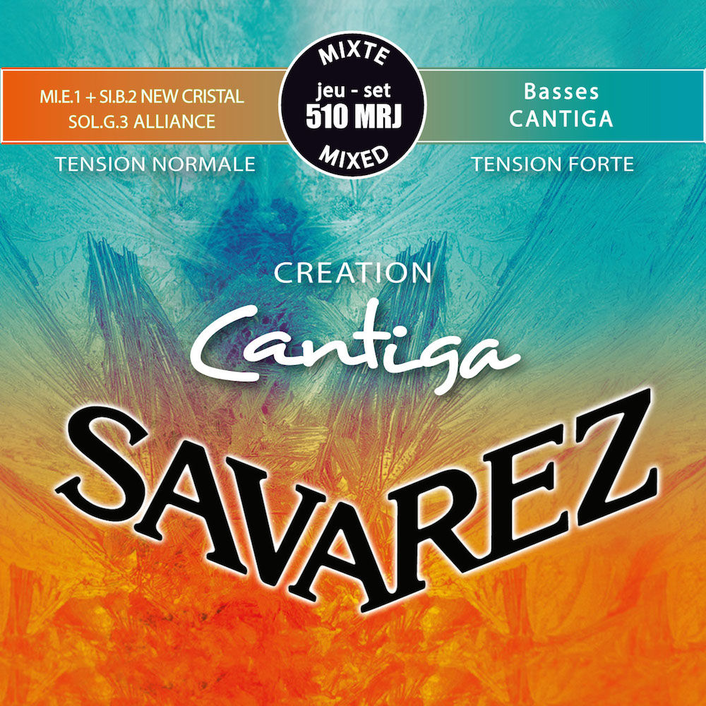SAVAREZ 510MRJ CREATION Cantiga Mixd tension SET クラシックギター弦×6セット