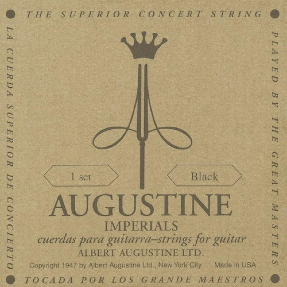 AUGUSTINE IMPERIAL BLACK SET クラシックギター弦×12セット