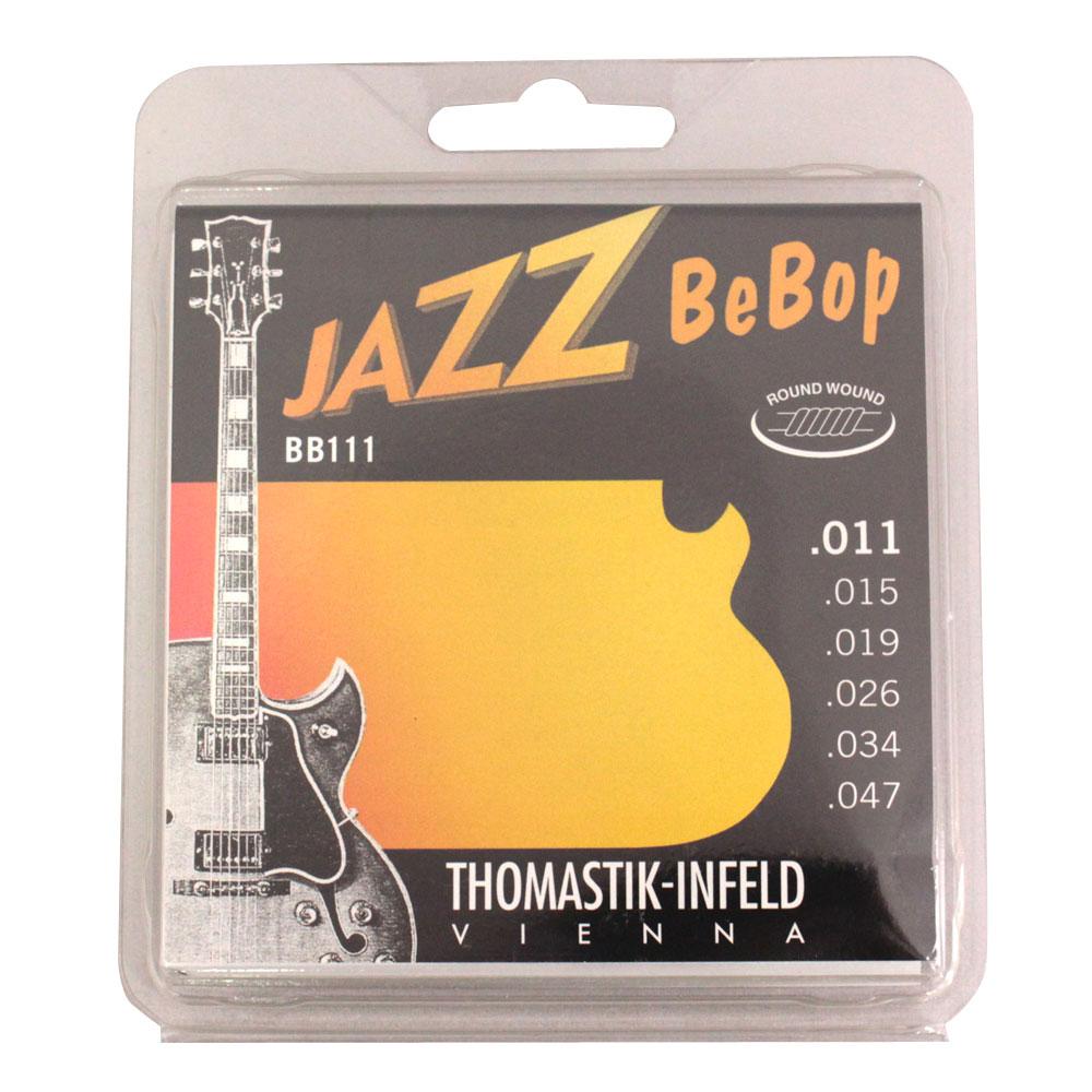 Thomastik-Infeld BB111 BeBop ラウンドワウンド ジャズギター弦×6セット