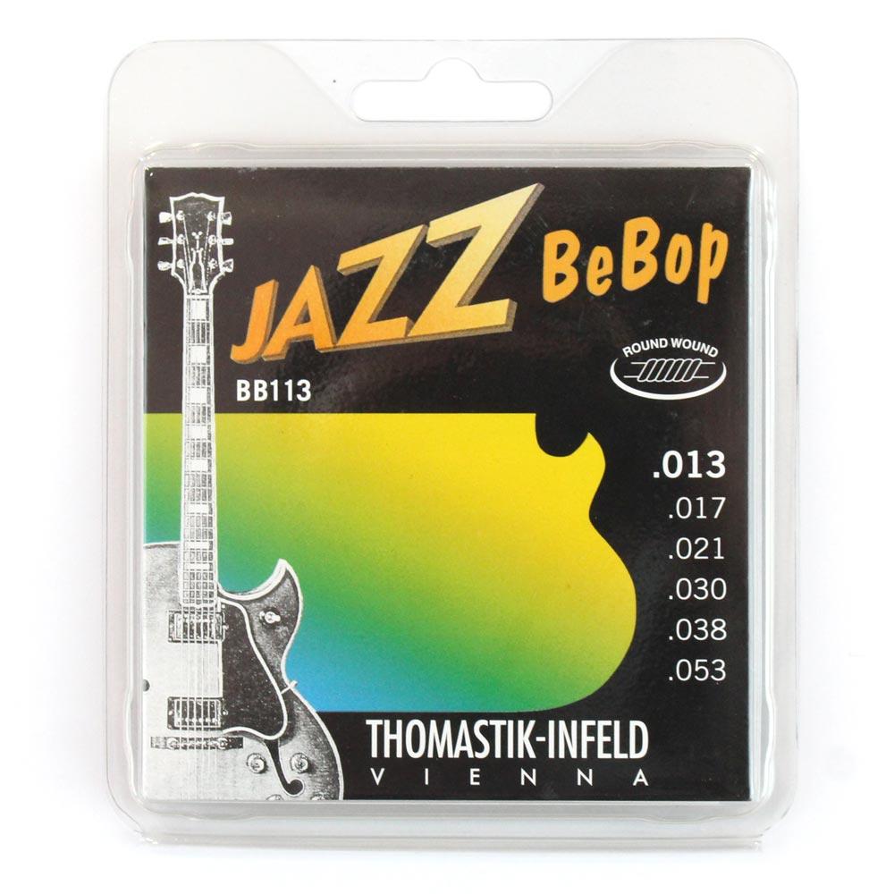 Thomastik-Infeld BB113 BeBop ラウンドワウンド ジャズギター弦×6セット