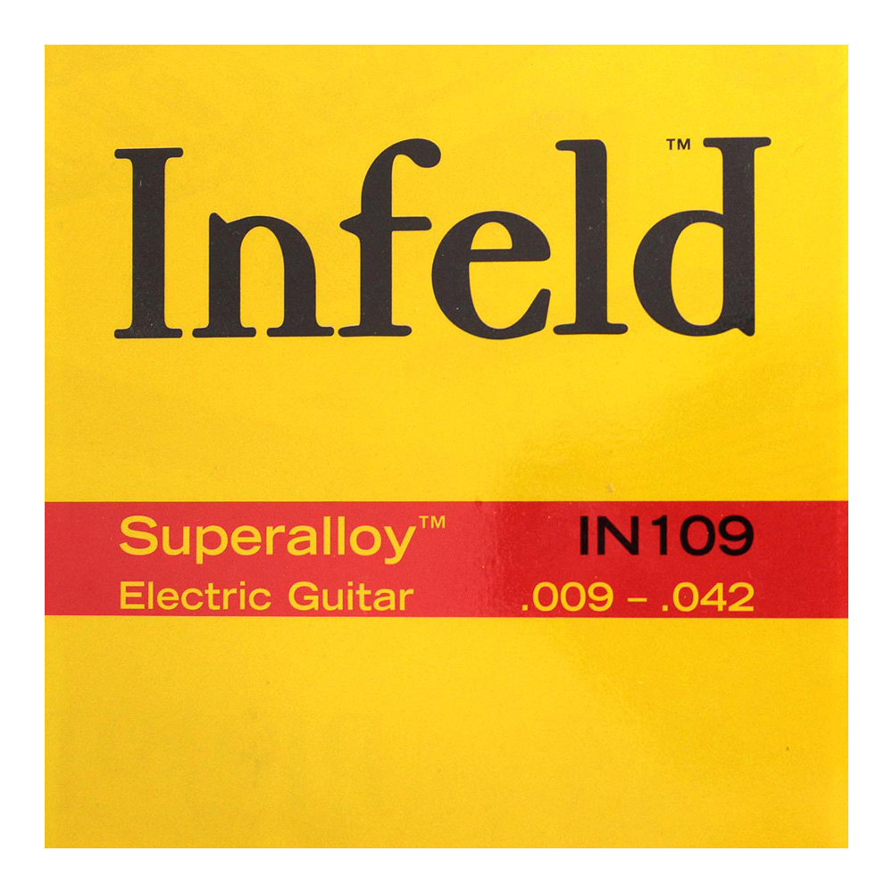 Thomastik-Infeld IN109 Superalloy 09-42 エレキギター弦×12セット