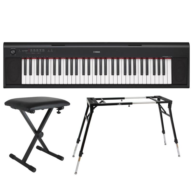chuya online yamaha np 12b piaggero 61 keyboard. Black Bedroom Furniture Sets. Home Design Ideas