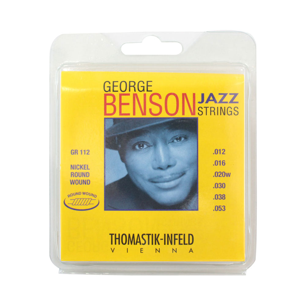Thomastik-Infeld GR112 GEORGE BENSON JAZZ STRINGS Round Wound ラウンドワウンドギター弦×6セット