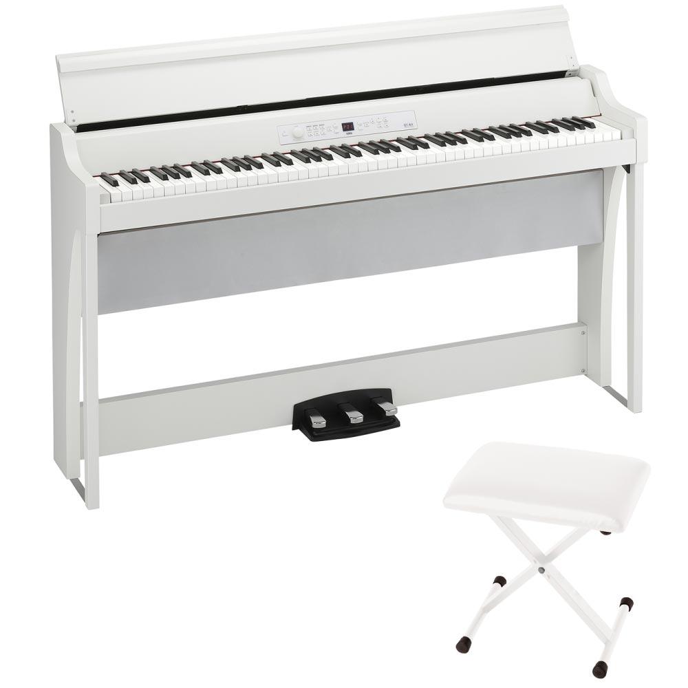 KORG G1 AIR WH 電子ピアノ JS-SB100 WH イス付き セット