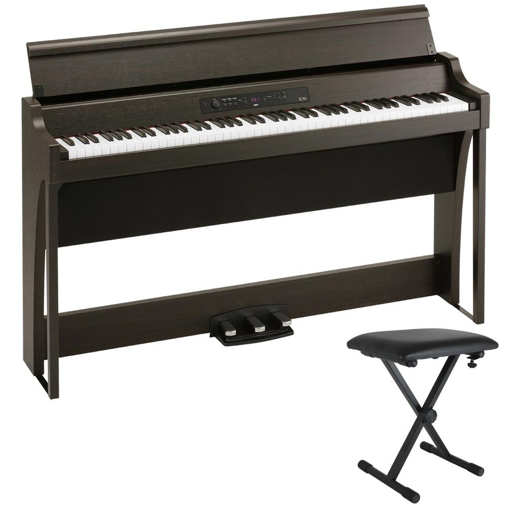 KORG G1 AIR BR 電子ピアノ Dicon Audio SB-001 イス付き セット