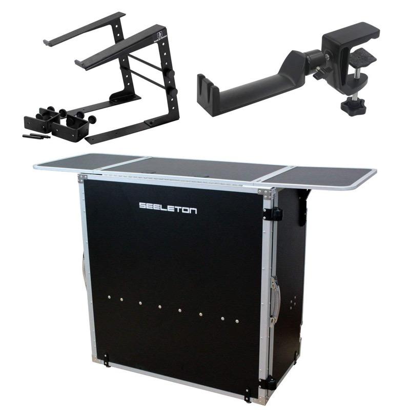 SEELETON SDJT/SMH-1/LPS-002 折りたたみ式 DJテーブル 3点セット