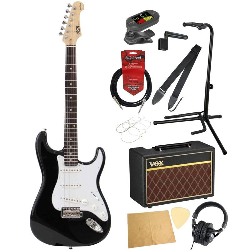 フジゲンから始める! エレキギター入門セット FUJIGEN FGN Basic Classic BCST10RBD BK/01 エレキギター VOXアンプ付 11点セット