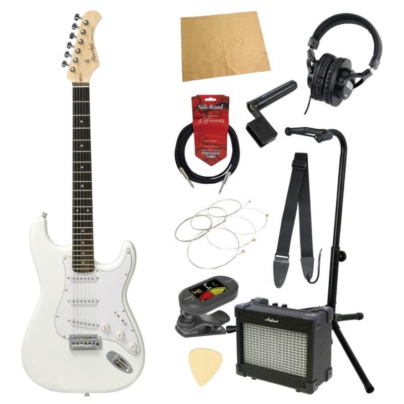 エレキギター入門11点セット BACCHUS BST-1R SW