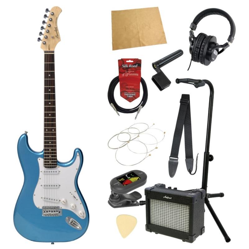 エレキギター入門11点セット BACCHUS BST-1R LPB