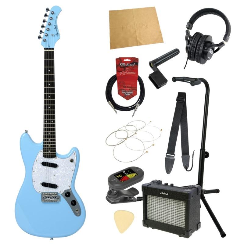 エレキギター入門11点セット BACCHUS BMS-1R SOB