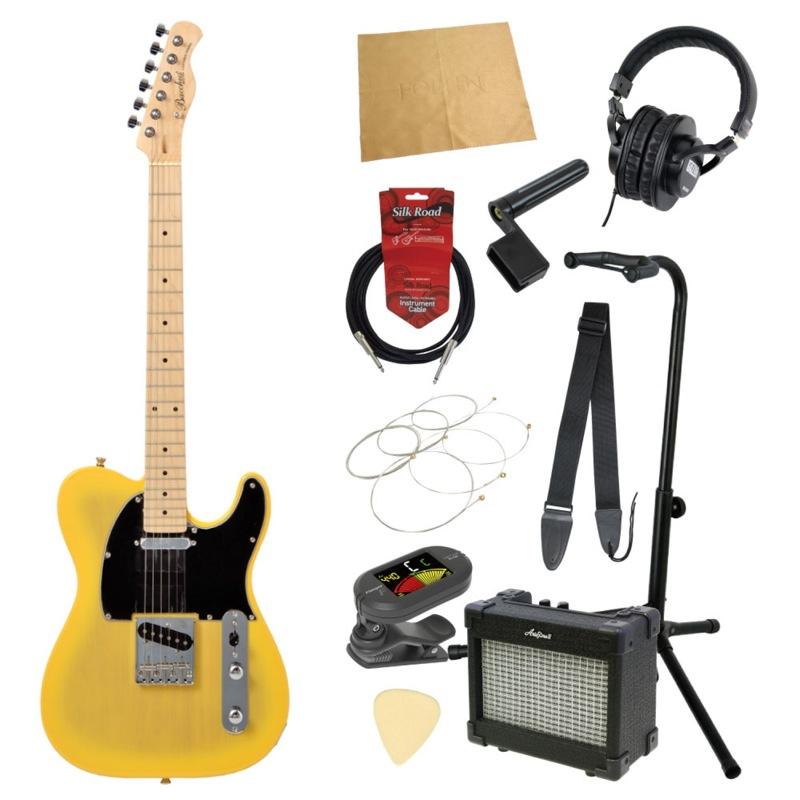 エレキギター入門11点セット BACCHUS BTE-1M BD