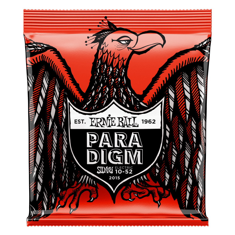 ERNIE BALL 2015 Paradigm Skinny Top Heavy Bottom Slinky 10-52 エレキギター弦×6セット