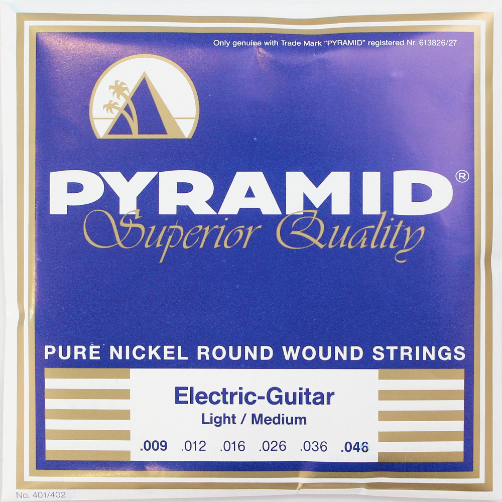 PYRAMID STRINGS EG Pure Nickel 009-046 エレキギター弦×6セット