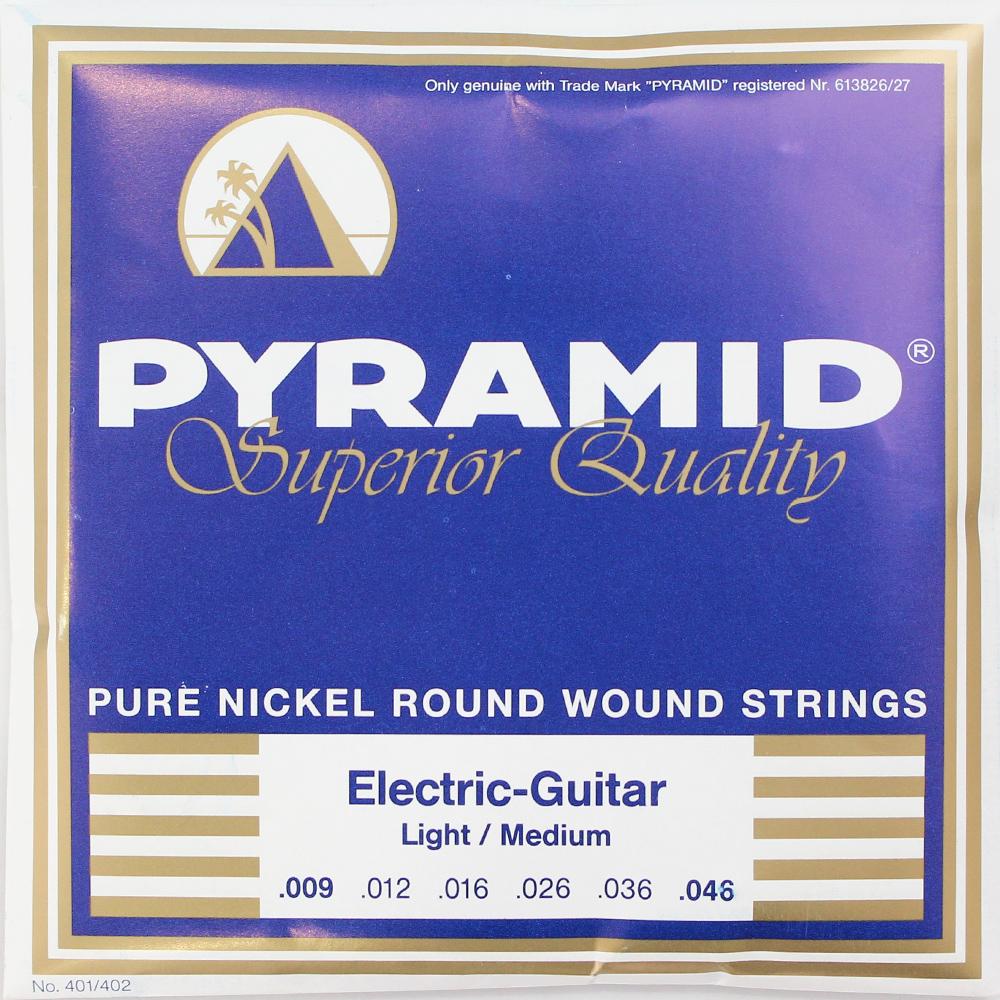 PYRAMID STRINGS EG Pure Nickel 009-046 エレキギター弦×6セット