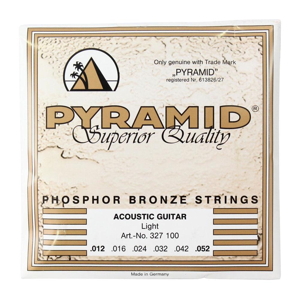 PYRAMID STRINGS AG phosphor Bronze 012-052 アコースティックギター弦×6セット
