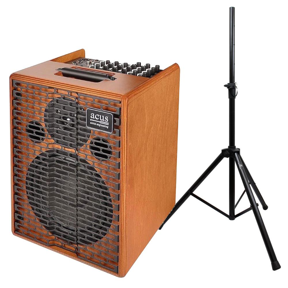 ACUS Oneforstrings 8 アコースティックギターアンプ スピーカースタンド付き2点セット